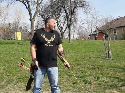 Bow-Hunter T-Shirt Hirsch