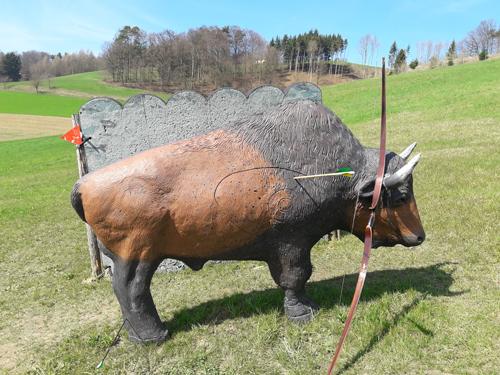 Tier-Ziel-Büffel